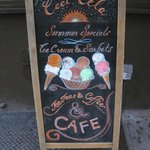 Summer Ice Cream Chalk Board
