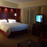 Die Zimmer sind hervorragen, großzügig zugeschnitten, viel Platz und modern.