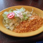(Chicken) Burrito Verde, Oh So Very Good!