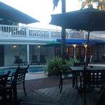 Pool area with mojito bar