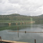 Hood Bridge on Columbia River