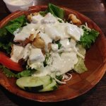 side salad with ranch