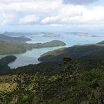 Towards Hamilton Island over Gulnare Inlet. Pic Karen Roser