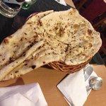 Huge chili and garlic naan
