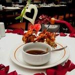 Great appetizer for our anniversary dinner @ Brazilian Steakhouse