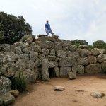 Tomba dei giganti fuori dagl itinerari turistici