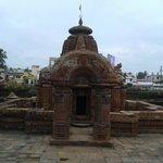 Magnificent Torana and view of Mukteswara temple