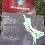 步道間的地圖指引