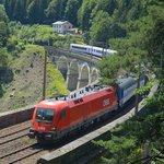 Kalte Rinne Viadukt mit Museum