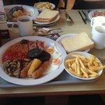 A Scoffers Breakfast