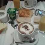 Et le petit déjeuner!