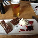 Ricoco Cake and Stag's Head ale