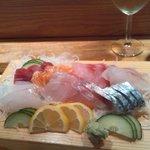 Assortiment sashimis