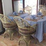 Table du restaurant Nabil