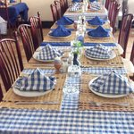 Table pour famille ou groupe