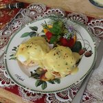 Eggs Benedict to die for