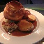 Sunday lunch, roast pork