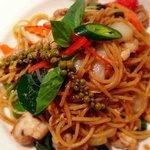 Spaghetti drunken noodle