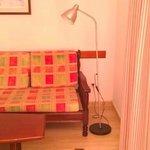 shabby living room/dining room