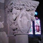 Chapiteau de l'église Ste Marie (12e s.) par le maître de Cabestany! Magnifique..