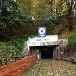 Entrance into the No. 9 Coal Mine