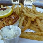 Wild cod and fries