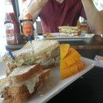 Snapper Sandwich