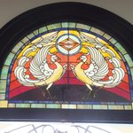 the beautiful color  stained glass at L2