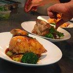 Roast chicken a la pascal