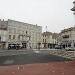 Ein Hotel im Herzen der Stadt Rochefort
