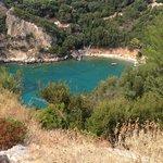 Dalla rupe del Monastero vedi spiaggette fantastiche