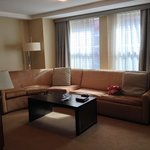 Gold One Bed Suite Lounge