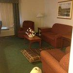 sweet suite living room