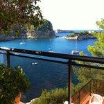 panoramica dall'hotel