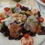 insalata con pesce del rist tanga
