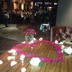 Table Decoration - Engagement