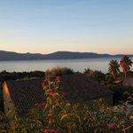 superbe vue sur le golfe du Valinco