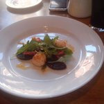 Scallops with Blackpudding