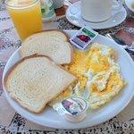 An Assortment of breakfast