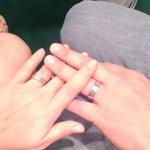 Nuestros anillos (también venden en la capilla, pero no se los modelos)