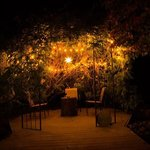 Magical Gazebo. Perfect place for a late night gathering.