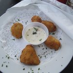 Fried Artichoke Appetizer
