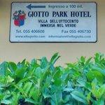 Indicazioni per l'Hotel Giotto