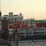 The legendary India-Pakistan Border Gate