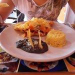 un petit déjeuner mexicain