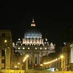 Just a short walk away- The St. Peter's basilica