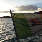 In viaggio verso l'isola Polvese