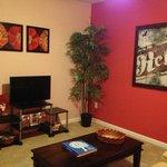 Fire Villa living room