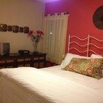 Fire Villa bedroom 1