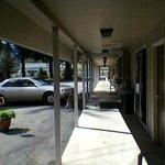 Sidewalk Of Lodge